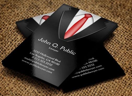 визитки образец юриста - фото 4